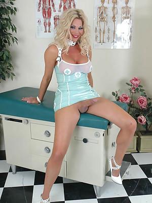 Erect Horny Tranny Nurse