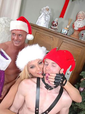 Tranny Fucking Christmas Time