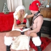 Shemale Fucking Santa and His Elf